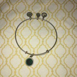 Alex and Ani birthstone charm bracelet